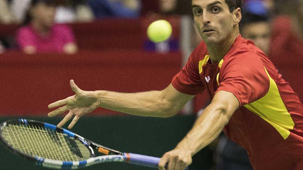 Tenis - Copa Davis 2ª Ronda Serbia-España: 1º partido individual