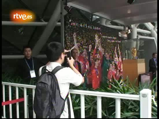 La Copa del Mundo viaja a la Expo de Shanghai