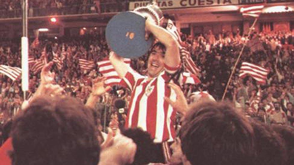La Copa del Rey 1984, último título del Athletic Club
