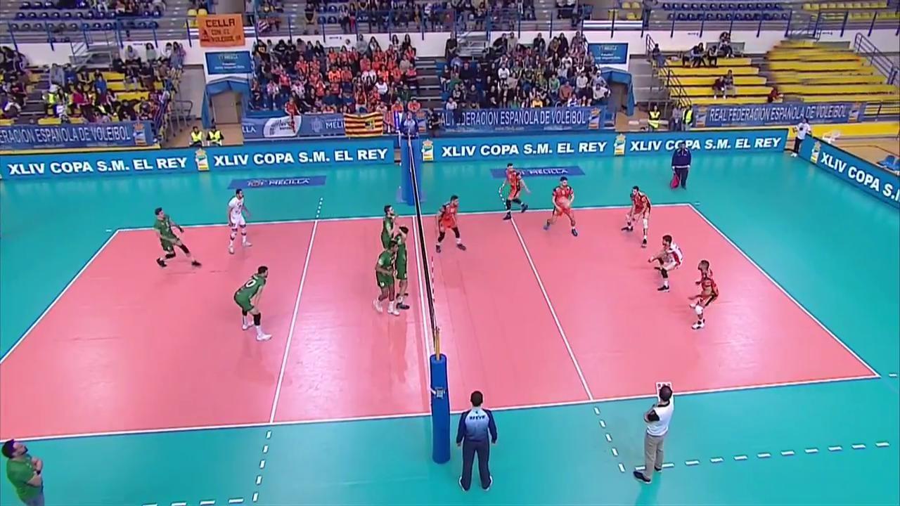 Voleibol - Copa del Rey 2018/2019 Final: CV Teruel - Unicaja Almeria