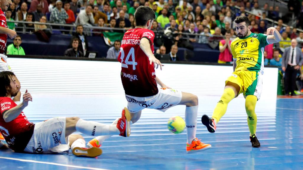 Fútbol Sala - Copa de España. 2ª Semifinal: Jaén Paraiso Interior - Ríos Renovables Zaragoza
