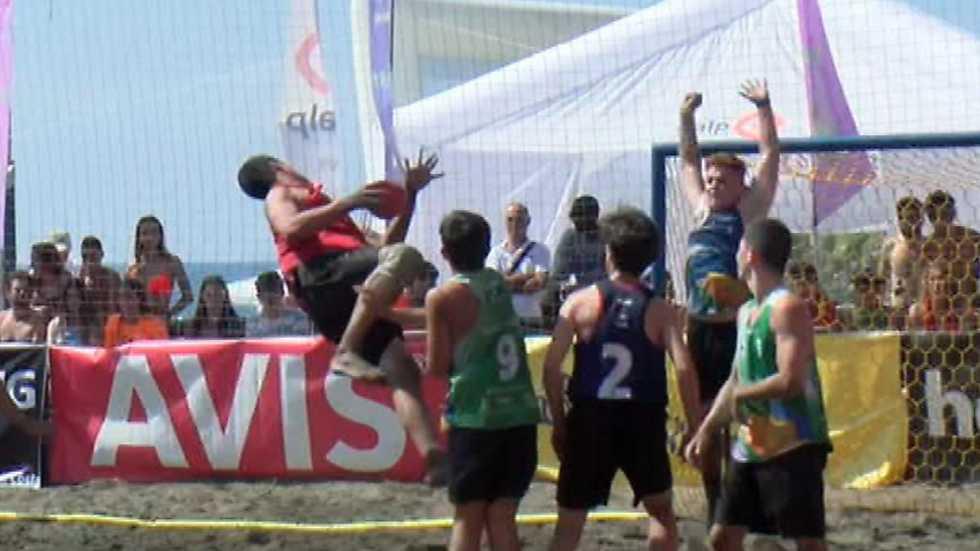 Balonmano Playa - Copa de España Resumen