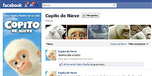 'Copito de Nieve' en Facebook