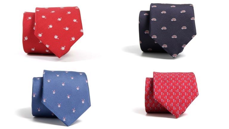 Corbatas artesanas de seda - Zoom tendencias