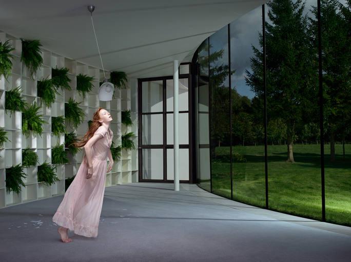 Julia Fullerton-Batten. 'Fern' (2008). Cortesía de la artista y Cámara Oscura Galería de Arte, Madrid