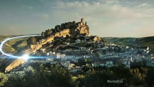 Cortinilla de otoño: Montefrío
