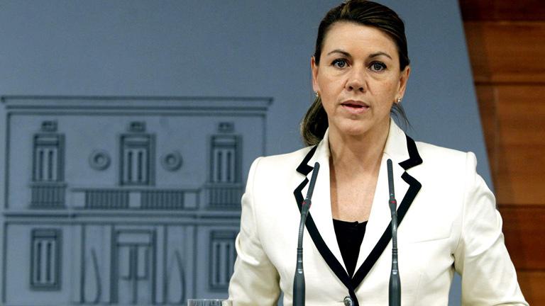 """Cospedal dice que España dará """"cumplida respuesta"""" a la expropiación de YPF"""