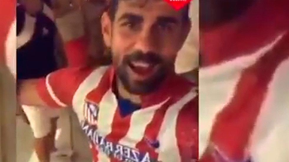 Costa ya se viste de rojiblanco a pesar de que aún no ha fichado