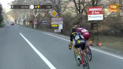 Cousin gana la 5ª etapa y 'Luisle' sigue de amarillo