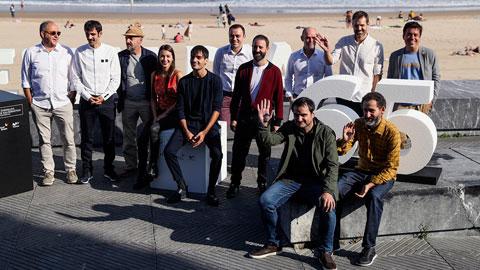 Los creadores de 'Loreak' presentan en San Sebastián 'Handia', una película de época sobre el gigante de Altzo