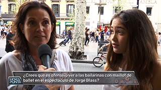 ¿Creen los padres y madres que es ofensivo ver a bailarinas en maillot en el espectáculo de Jorge Blass?