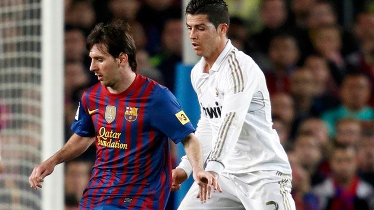 Cristiano le gana la partida a Messi