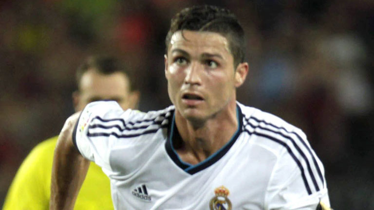 Cristiano Ronaldo adelanta al Real Madrid (0-1)