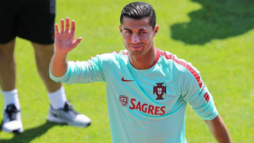 Cristiano Ronaldo dio la clasificación a Portugal