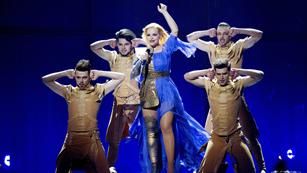 """Eurovisión 2014 - Cristina Scarlat representa a Moldavia con la canción """"Wild soul"""""""