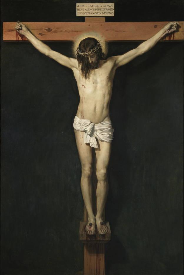 'Cristo crucificado' (hacia 1632). Diego Rodríguez de Silva y Velázquez. Óleo sobre lienzo.Museo Nacional del Prado, Madrid