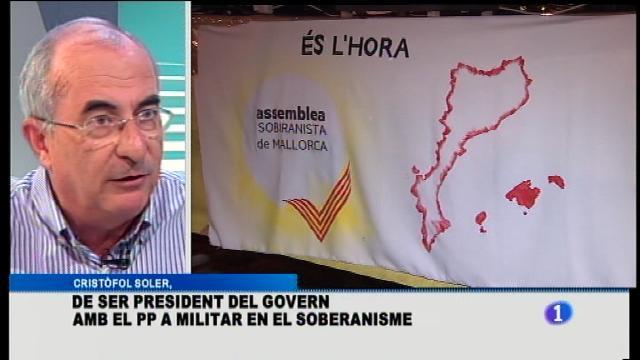 "Cristòfol Soler, expresident del govern: ""Bauzá ha intentat fer un etnocidi"""