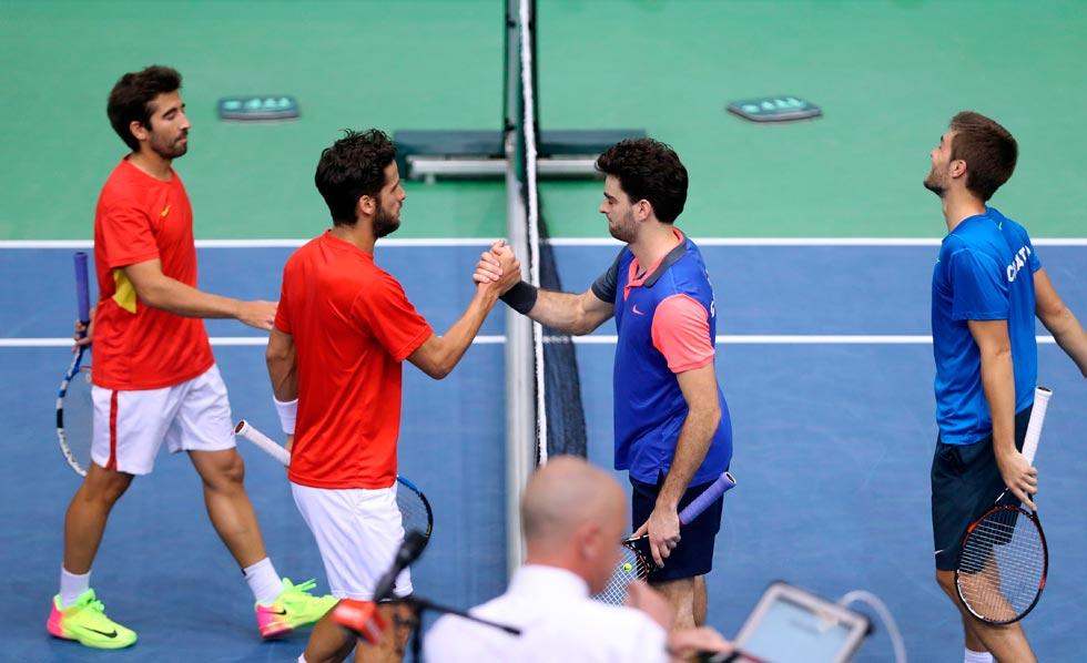 Croacia gana el dobles y deja a España a un paso de la eliminación en la Davis