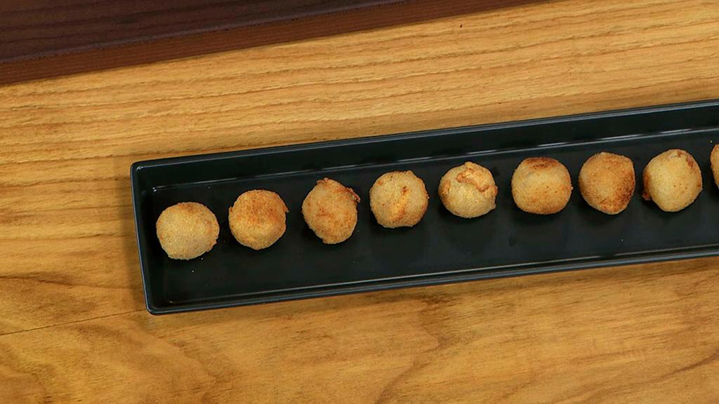 Torres en la cocina -  Croquetas de berenjena y queso