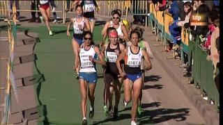 Atletismo - Cross Internacional: Carrera femenina