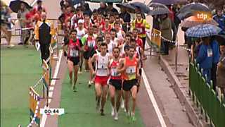 Atletismo - Cross Internacional Venta de Baños - Carrera masculina
