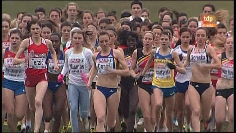 Atletismo - Cross Campeonato de Europa - Junior mujeres