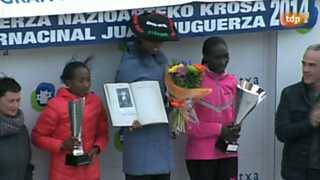 Atletismo - Cross Memorial Juan Muguerza: carrera femenina y masculina