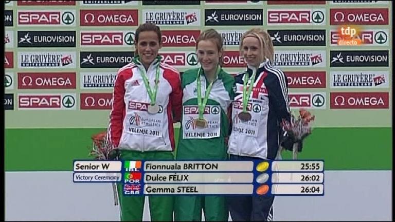 Atletismo - Cross Campeonato de Europa - Senior mujeres