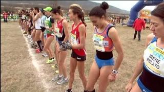 Atletismo - Cross campo a través Internacional de Soria - Carrera femenina