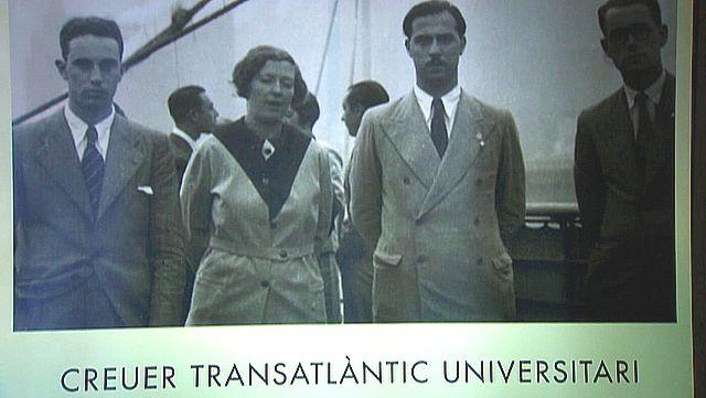 UNED - Crucero Trasatlántico Universitario del 1934 - 20/10/17