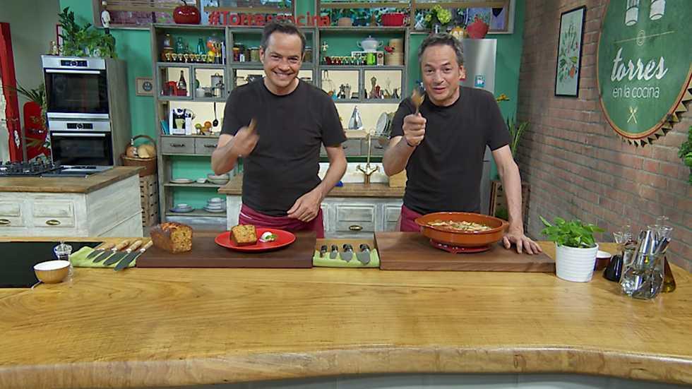 Torres en la cocina -  Cruet y bizcocho de zanahoria