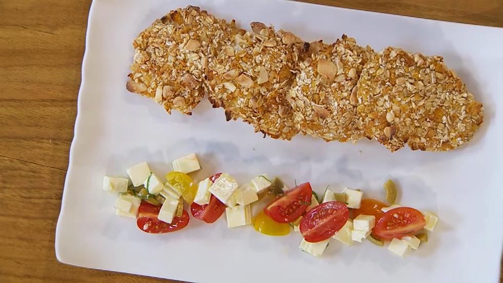 Torres en la cocina - Crujiente de pollo con cereales y almendras