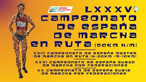 Atletismo - Campeonato de España de Marcha en Ruta (Burjassot, Valencia)