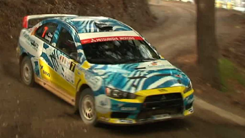 Automovilismo - Campeonato de España de Rallyes de Tierra. 'Rallye Costa Tropical'