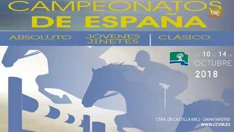 Hípica - Campeonato de España de Saltos: Absoluto y Jóvenes Jinetes 2018