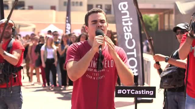 """OT Casting - ¡Cuándo Naím Thomas te dice que eres """"muy bueno""""!"""