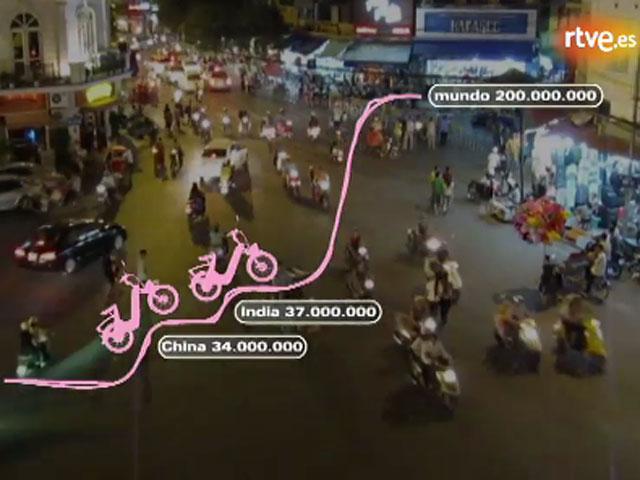 ¿Cuántas motos hay en circulación?