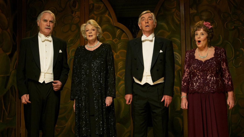 'El cuarteto', el debut como director de Dustin Hoffman en El Cine de La2