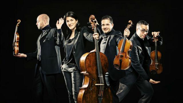 Estudio 206 - Cuarteto Quiroga - 17/11/17
