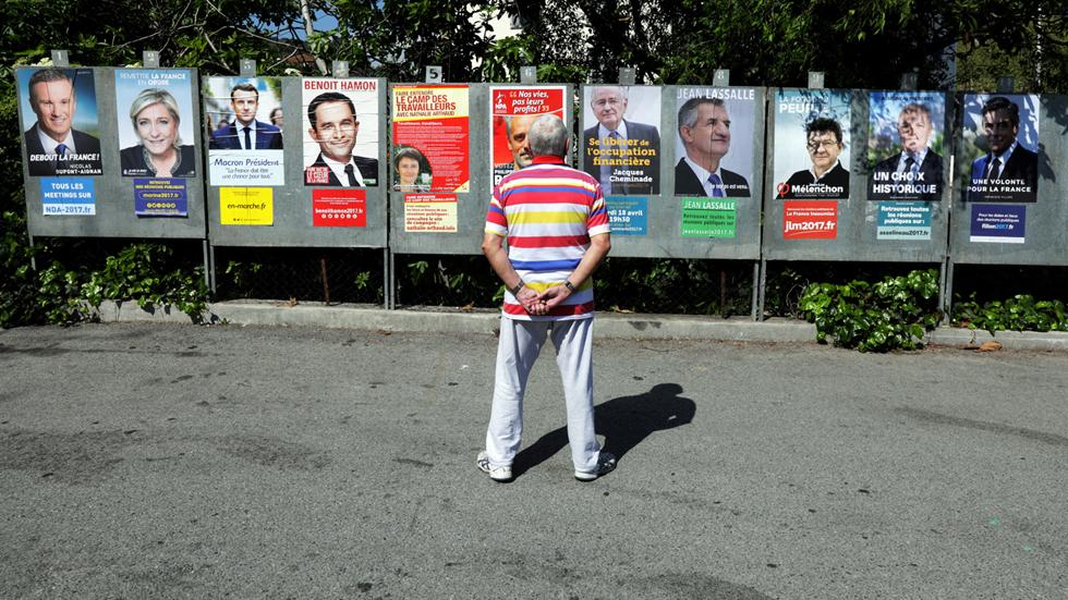 A cuatro días de las elecciones en Francia, el empate entre cuatro candidatos deja abierta todas las hipótesis