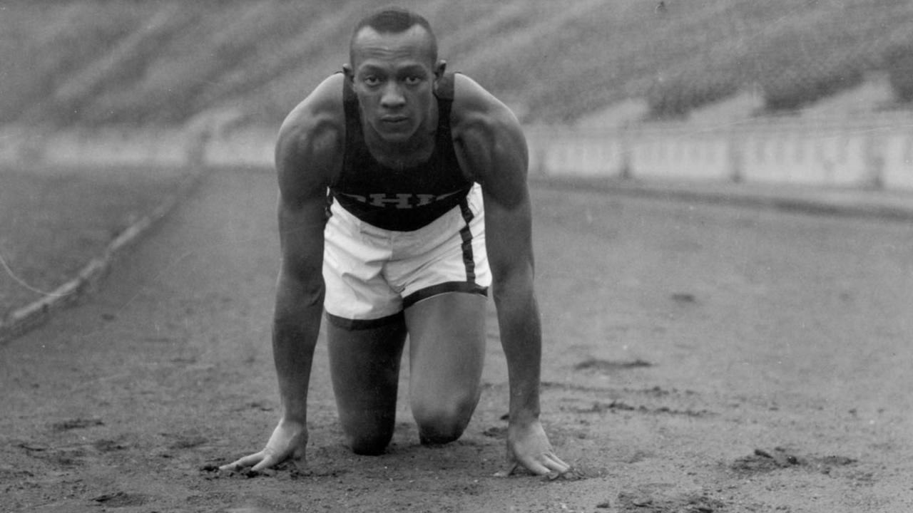 Con sus cuatro medallas, Jesse Owens hizo historia en Berlín