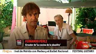 Cámara abierta - El festival Cultura Inquieta, las recetas de la abuelita, Planeta Blanc y Nieves Álvarez en 1minutoCOM - 06/07/13