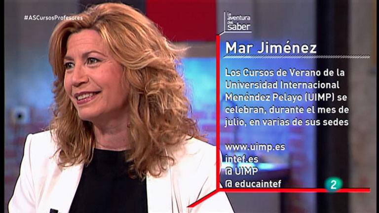 La Aventura del Saber. TVE. Entrevista a Mar Jiménez.