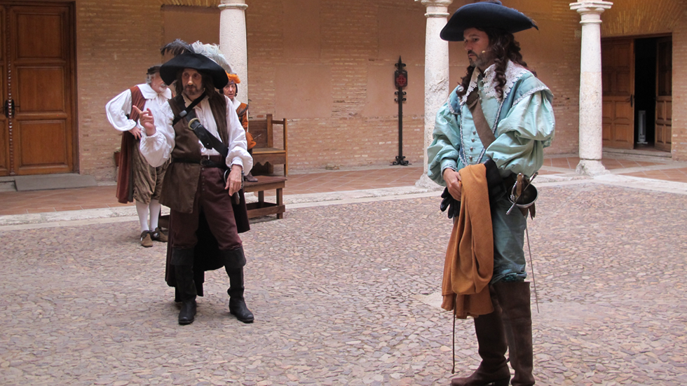 Almagro respira Festival: `Cyrano de Bergerac' en realidad virtual