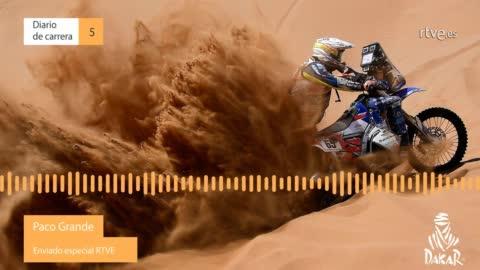 Dakar 2019. Diario de Carrera. Etapa 5