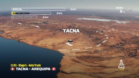 Dakar 2019. Etapa 5. Tacno-Arequipa