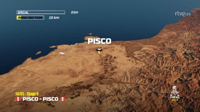 Dakar 2019. Etapa 9. Pisco-Pisco