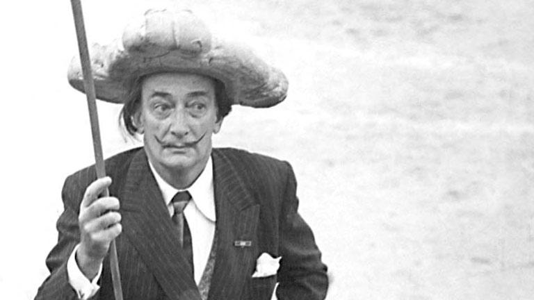 Dalí, el personaje