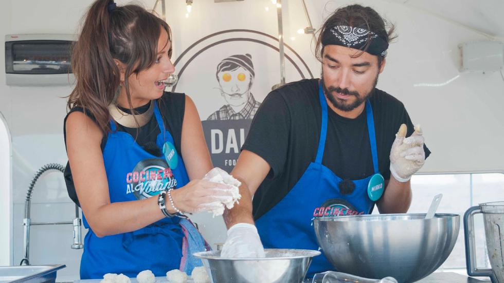 Cocineros al Volante - Dalys, los primeros finalistas gracias a sus compañeros