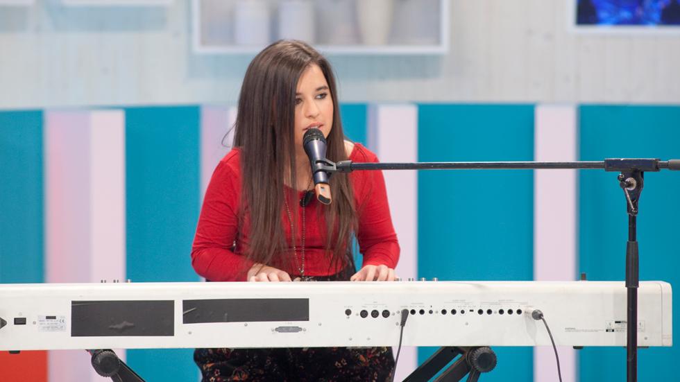 """La mañana - Danae: """"Llevo toda la vida con la música"""""""
